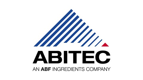 Abitec blue and black triangle logo